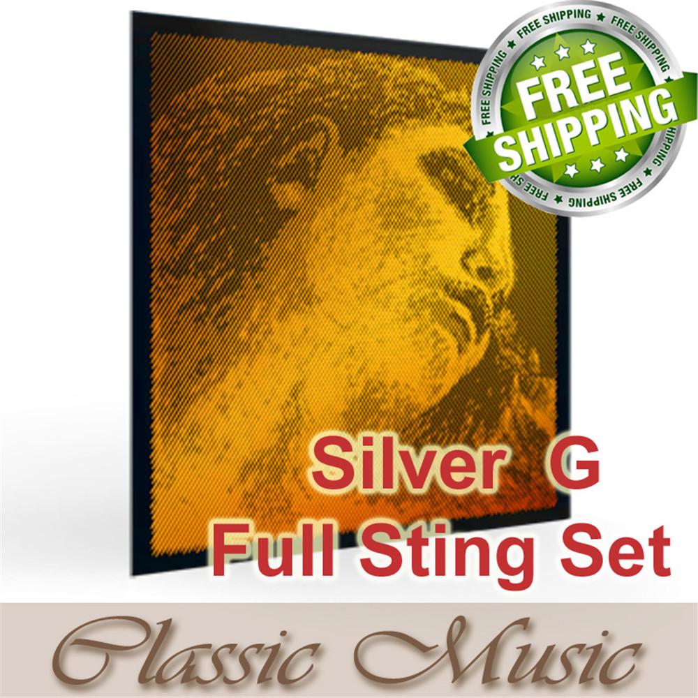 Pirastro 415921 Evah Pirazzi GOLD Viol/ín g-4 medio Silver