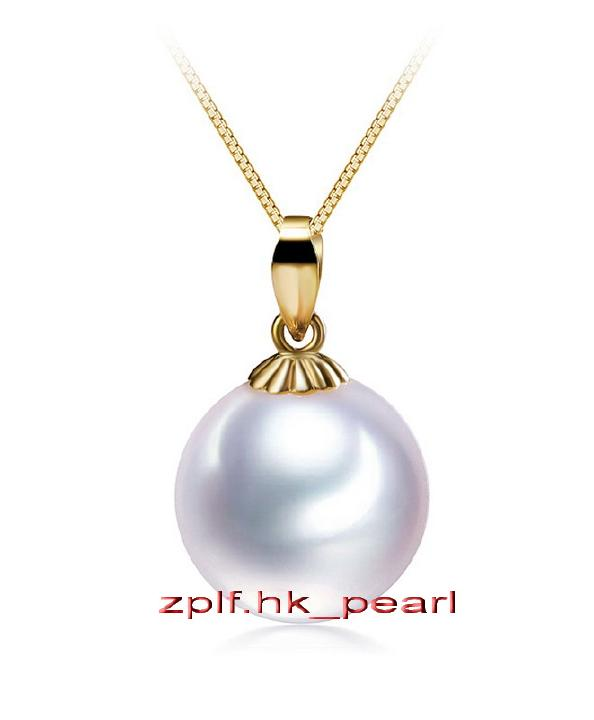 12-13MM south sea black pearl necklace 18K GOLD 18 inches HUGE