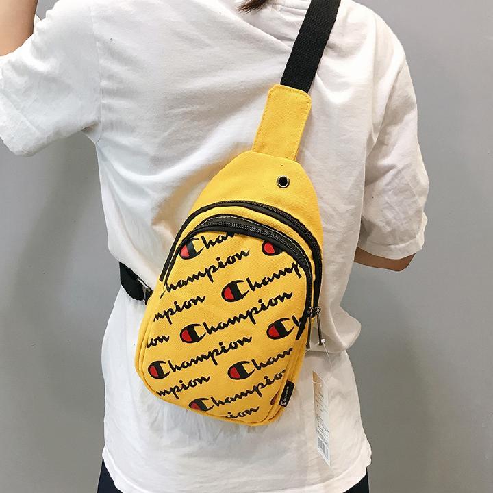 5 Colors New Champion Waist Bag Men Women Fanny Pack Waist//sling Pack Bags